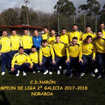 O C.D.NARÓN SIGUE MEDRANDO