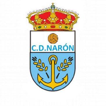 Primer partido oficial del C.D. Narón.