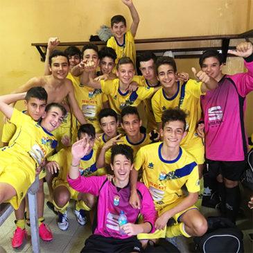 El Cadete B se proclama campeón del Grupo A en la primera fase.