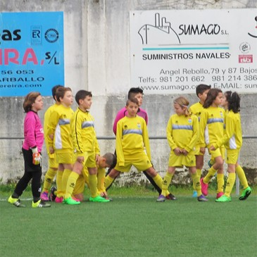 El C.D. Narón Alevín B disputará el V Torneo F8 de Laracha.