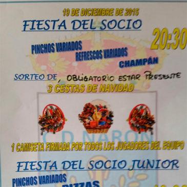 El C.D. Narón celebrará la I Fiesta del Socio en O Cadaval.