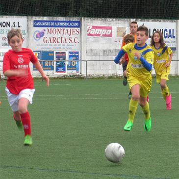V Torneo de Laracha F8: El Alevín B se quedó en cuartos ante el Depor.