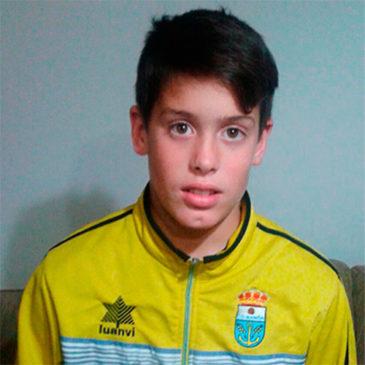 Yetur: ¨Con ocho años convencí a mis padres para que me dejaran fichar en un equipo de fútbol. Fue el mejor regalo que me pudieron hacer¨.