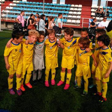 El Prebenjamín A quedó subcampeón en el I Torneo del Club Silva.