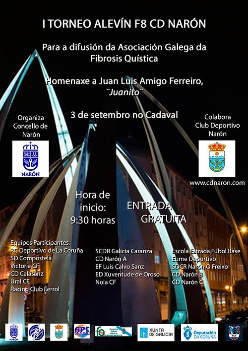 Cartel-I-Torneo-Alevín-F8-CD-Narón
