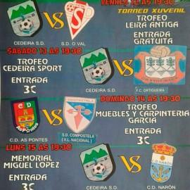 O Primeiro Equipo gañou o Memorial Miguel López en Cedeira.